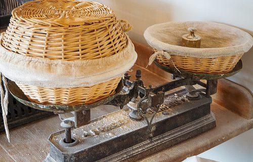 Le Croissant Fertile pesée du pain