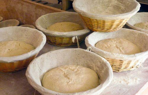 Le Croissant Fertile levée du pain avant enfournement