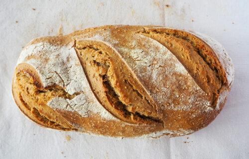 Le Croissant Fertile pain forme allongée