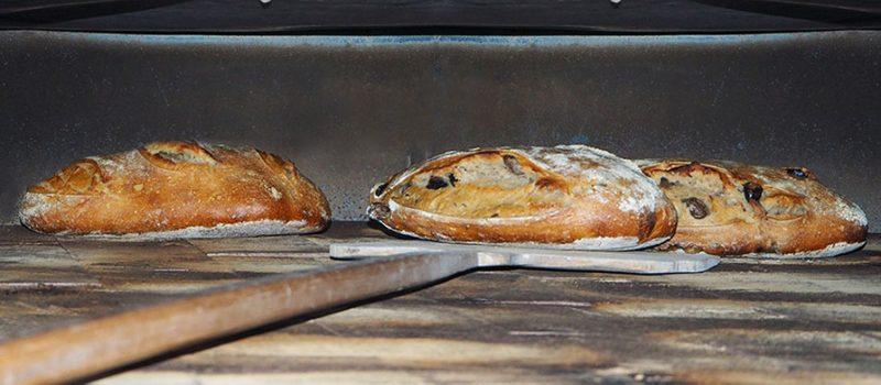 Le Croissant Fertile, four à bois