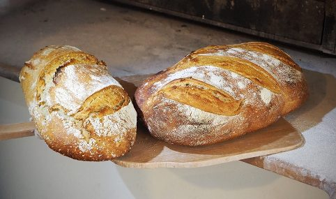 Le Croissant Fertile le pain ressuyage